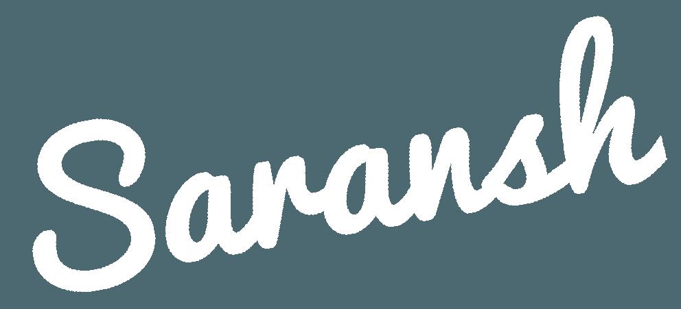 Saransh | WordPress Freelancer